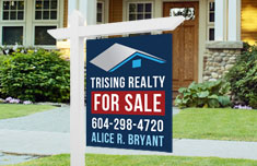 For Sale Sign -2 sided (Same Image)